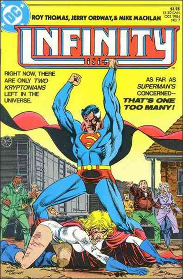 Infinity Inc. (1984) 7-A by DC