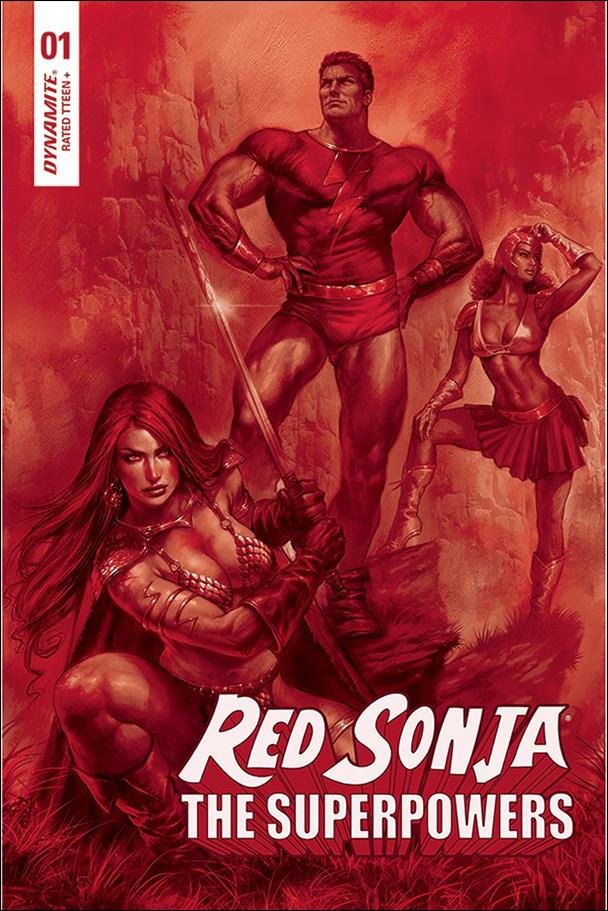Red Sonja: The Superpowers 1-ZD by Dynamite Entertainment