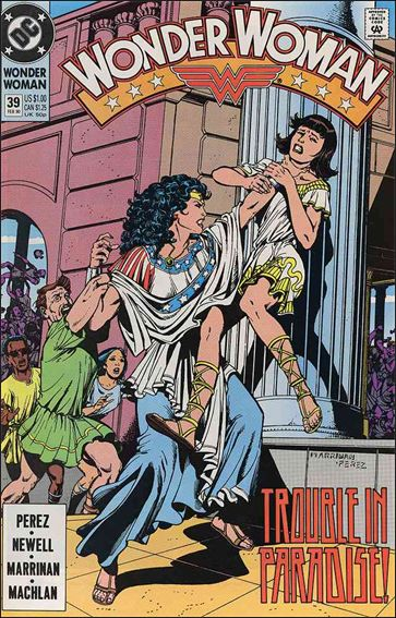 Wonder Woman (1987) 39-A by DC
