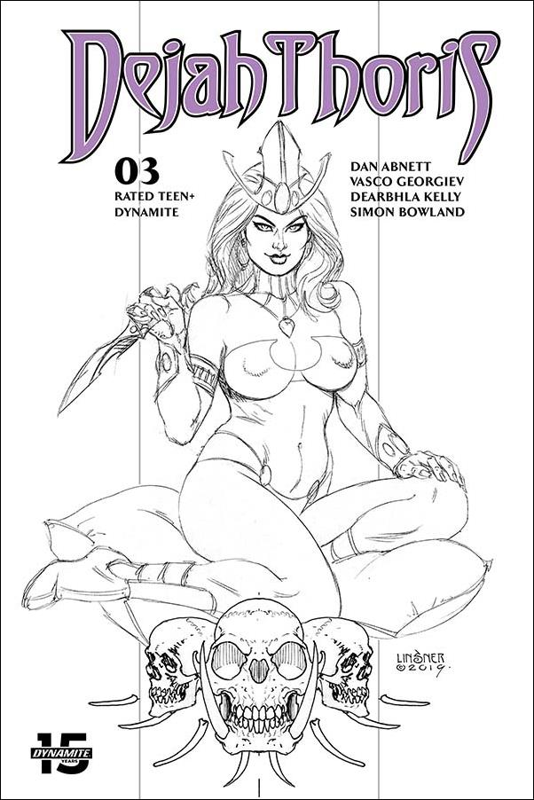 Dejah Thoris (2019) 3-N by Dynamite Entertainment