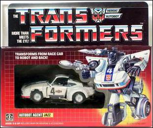 Transformers: More Than Meets the Eye (Generation 1) Jazz (Autobot Agent) by Hasbro