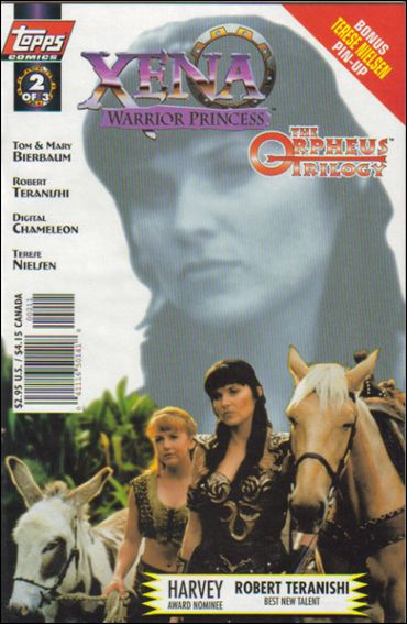 Xena: Warrior Princess: The Orpheus Trilogy 2-A by Topps