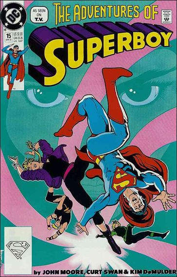 Superboy (1990) 15-A by DC