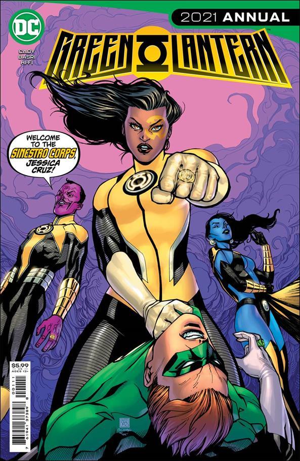 Green Lantern 2021 Annual 1-A by DC
