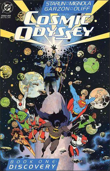 Cosmic Odyssey 1-A by DC