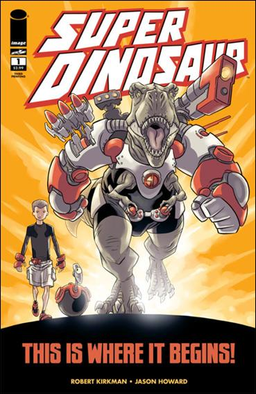 Super Dinosaur 1-C by Skybound Entertainment