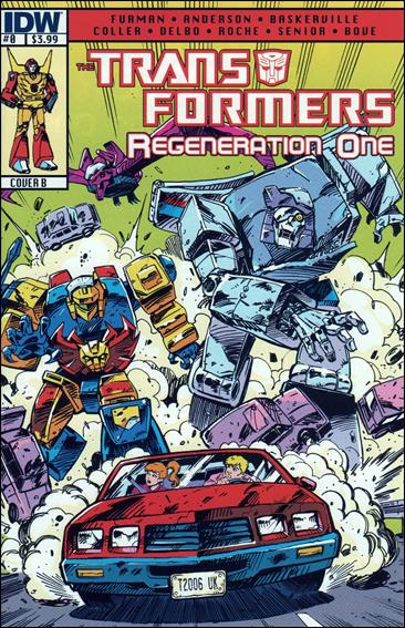 Transformers: Regeneration One 0-B by IDW