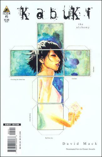 Kabuki (2004) 5-A by Icon