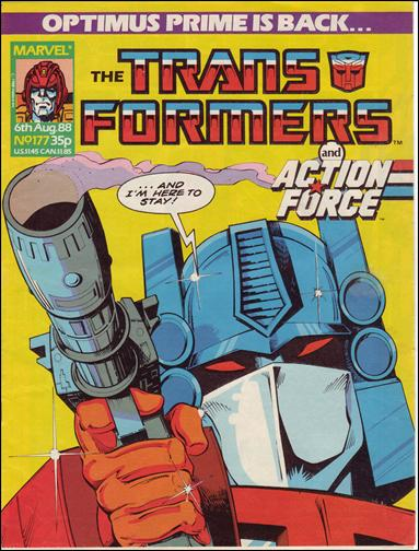 Transformers (UK) 177-A by Marvel UK