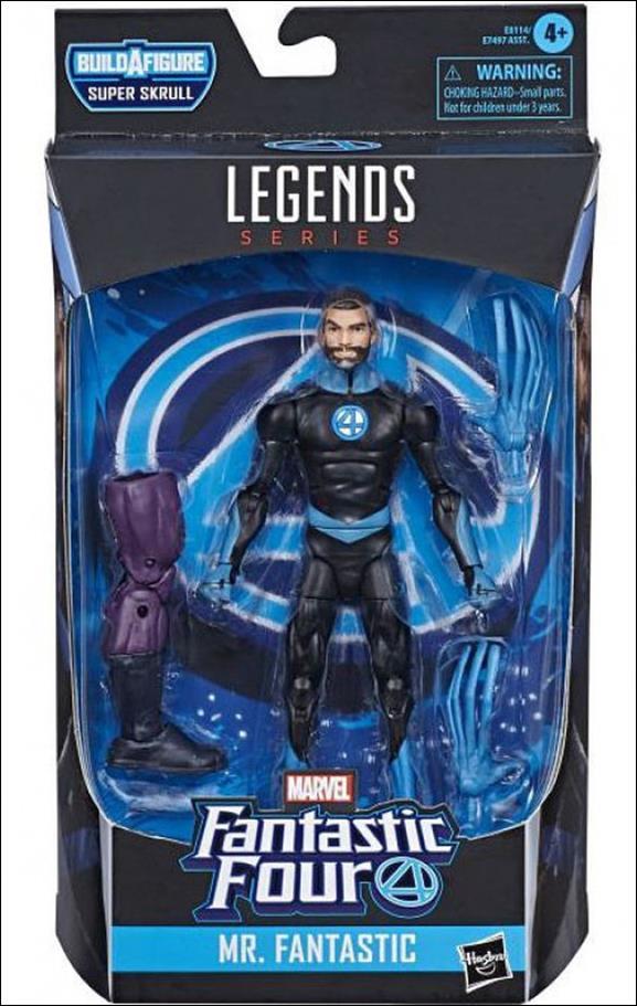 Marvel Legends Series: Fantastic Four (Super Skrull Series) Mr. Fantastic by Hasbro