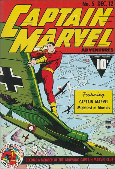 Captain Marvel Adventures 5-A by Fawcett