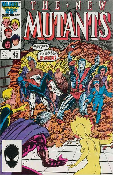 New Mutants (1983) 46-A by Marvel