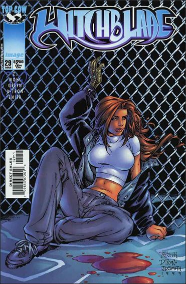 Witchblade (1995) 29-A by Top Cow
