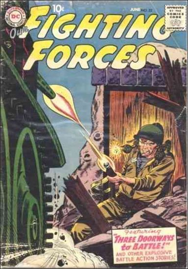 Our Fighting Forces (1954) 22-A by DC