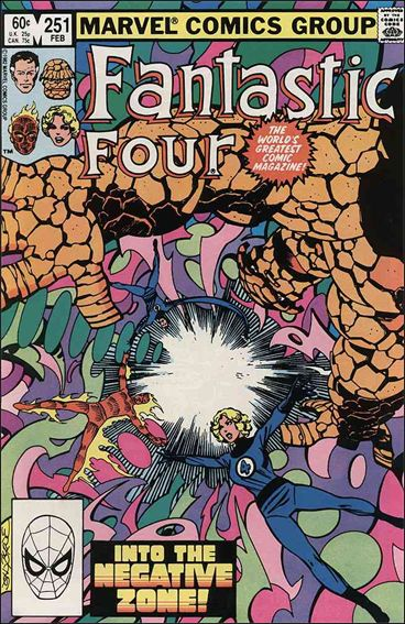 Fantastic Four (1961) 251-A by Marvel