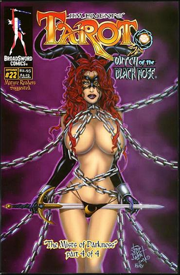 Tarot: Witch of the Black Rose 22-B by BroadSword Comics