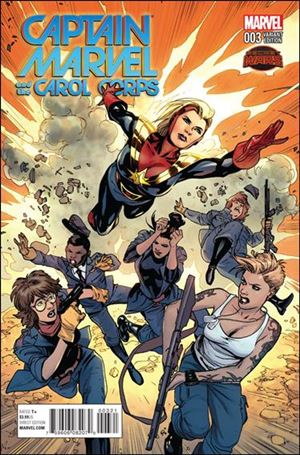 Captain Marvel & The Carol Corps 3-B