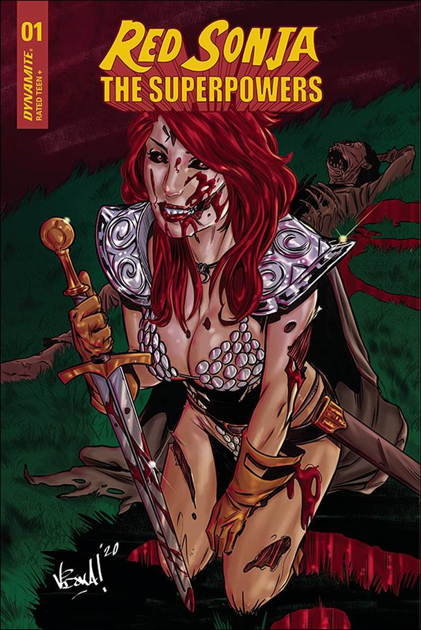 Red Sonja: The Superpowers 1-H by Dynamite Entertainment
