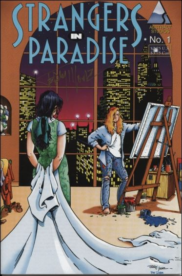 Strangers in Paradise (1994) 1-B by Abstract Studio