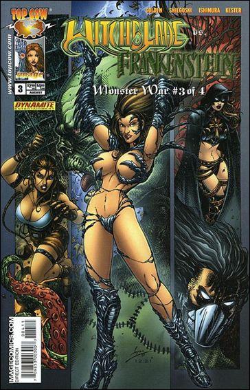 Witchblade vs Frankenstein: Monster War 2005 3-B by Top Cow