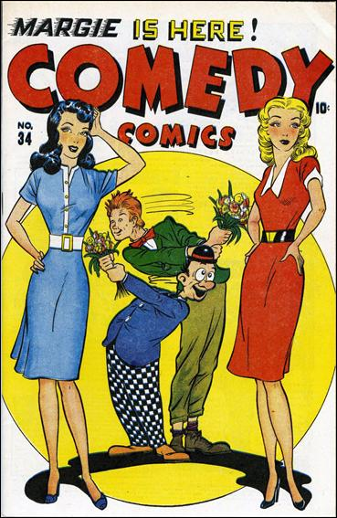 Comedy Comics (1942) 34-A by Timely