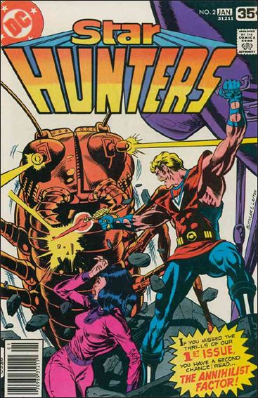 Star Hunters 2-A by DC