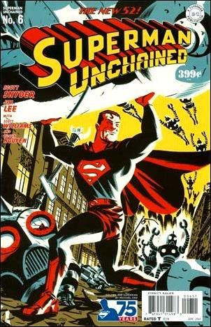 Superman Unchained 6-J by DC