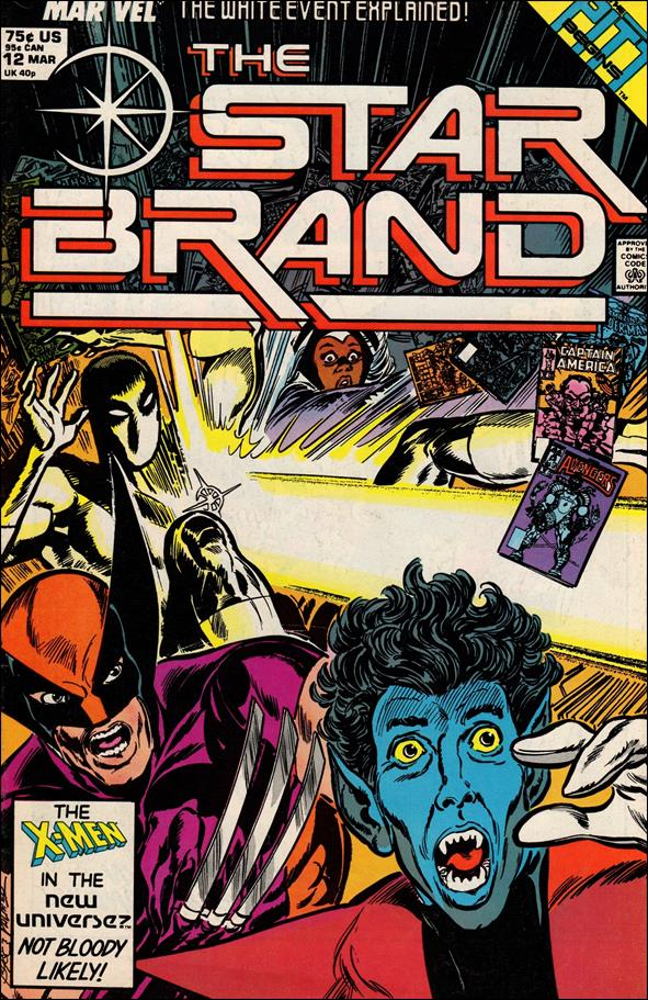 Star Brand 12-A by Marvel