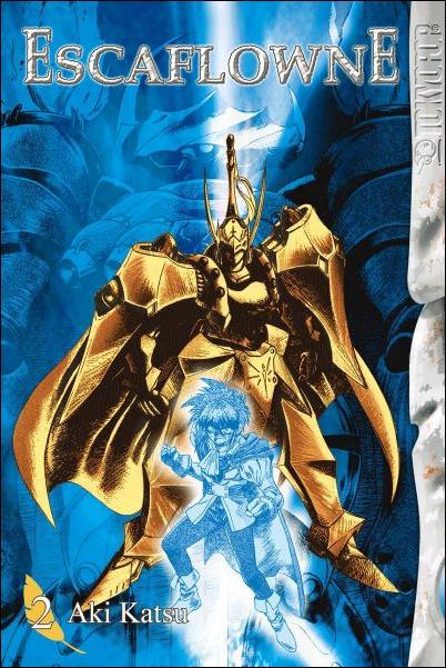 Vision of Escaflowne  2-A by Tokyopop