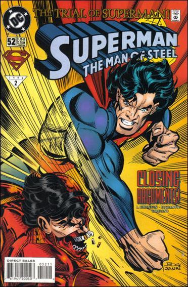 Superman: The Man of Steel 52-A by DC