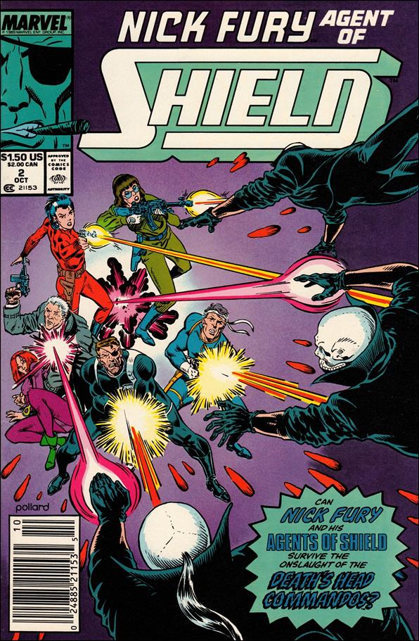 Nick Fury, Agent of S.H.I.E.L.D. (1989) 2-A by Marvel