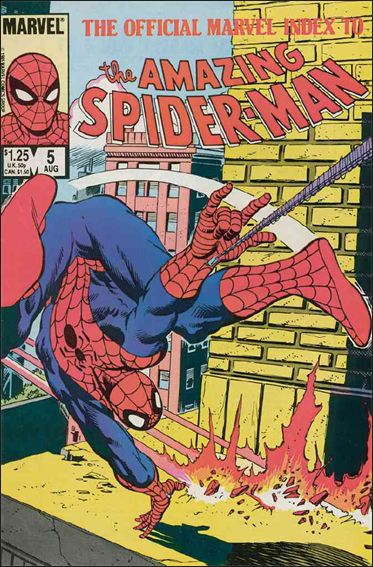 Official Marvel Index to the Amazing Spider-Man 5-A by Marvel