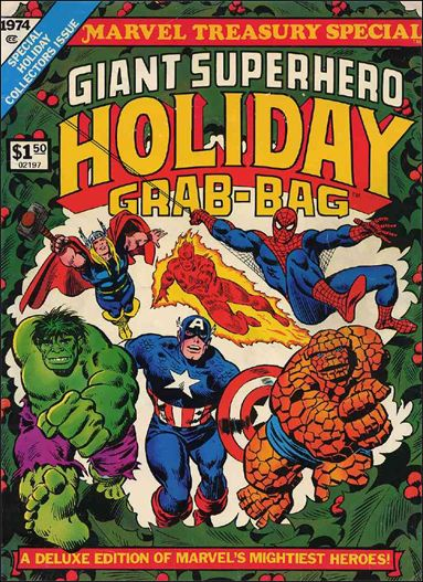 Marvel Treasury Special, Giant Superhero Holiday Grab-Bag 1-A by Marvel
