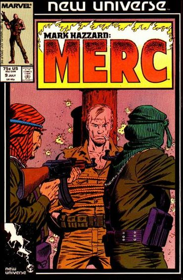 Mark Hazzard: Merc 9-A by Marvel