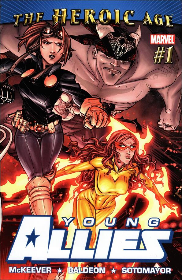 Young Allies 1-A by Marvel