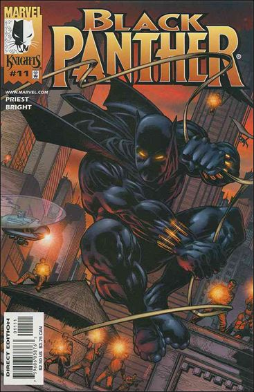 Black Panther (1998) 11-A by Marvel