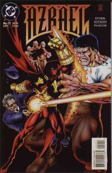 Azrael (1995) 12-A by DC