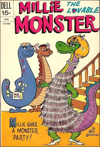 Millie the Lovable Monster 5-A by Dell