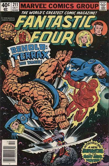Fantastic Four (1961) 211-A by Marvel