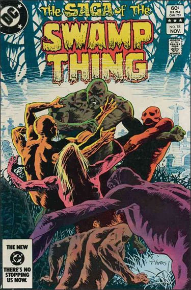 Saga of the Swamp Thing 18-A by DC