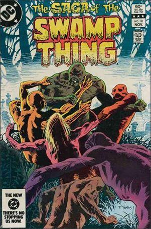 Saga of the Swamp Thing 18-A