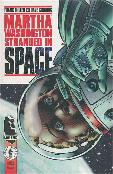 Martha Washington: Stranded in Space 1-A by Dark Horse