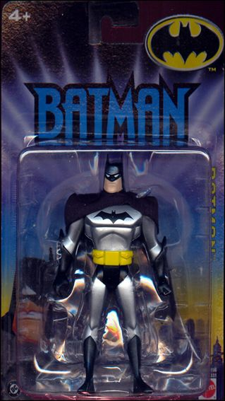 Batman (Animated) Batman (Silver Costume) (DC Bullet Logo) by Mattel