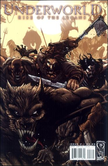 Underworld: Rise of the Lycans 2-A by IDW