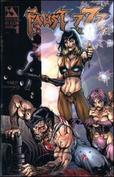 777: Wrath/Faust Fearbook 1-A by Avatar Press