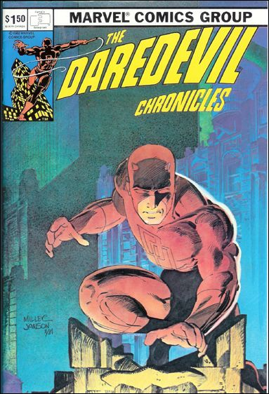 Daredevil Chronicles 1-A by FantaCo