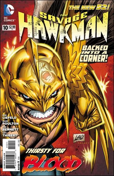 Savage Hawkman 10-A by DC