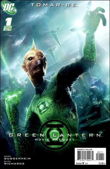 Green Lantern Movie Prequel: Tomar-Re 1-A by DC