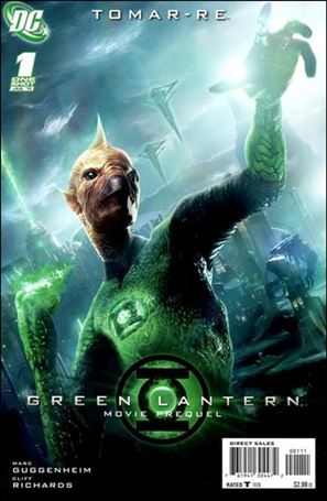 Green Lantern Movie Prequel: Tomar-Re 1-A