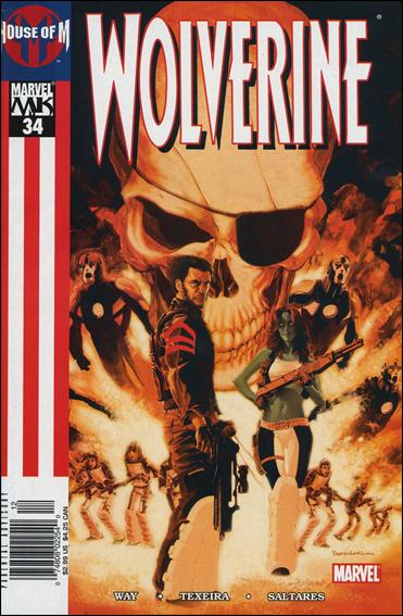 Wolverine (2003)  34-B by Marvel